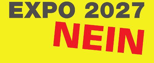 Nein zur Expo 2027